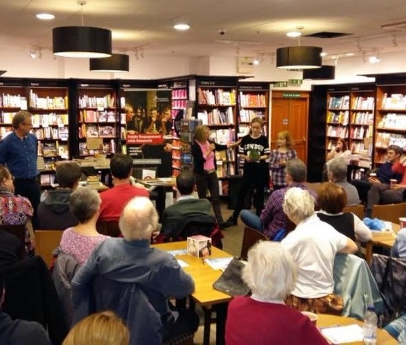 How to organise a Cafe Scientifique talk
