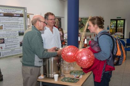 Science & Red Spotty Balloons UK Fungus Day 2013