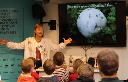 UK Fungus Day 'Fantastic Fungus Facts' at Cambridge Science Centre